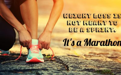 Weight Loss is not a Sprint.